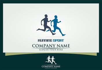running sport logo