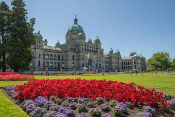Victoria Capital City Of British Columbia Canada Wall mural