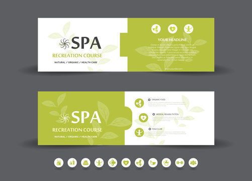 Spa  Banner Template