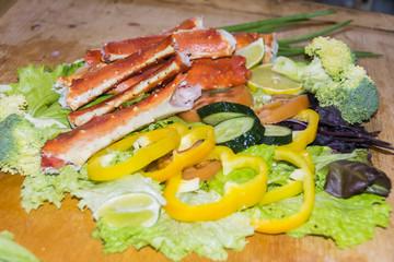 King Crab Salad