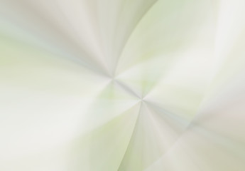 Abstract zoom with curved lines and waves