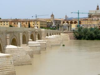 Low Bridge over River