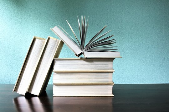An image of books - education