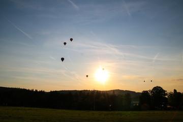 Heißluftballon Treff, Brünn, Tschechische Republik