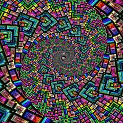 Abstrakt Spirale