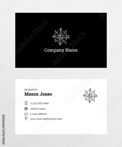 Double sided business card template us standard size 35x2 in double sided business card template us standard size 35x2 in withe bleed reheart Choice Image
