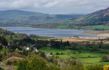 Bassenthwaite Lake in Lake District