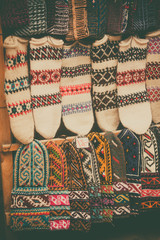 Turkish hand made socks