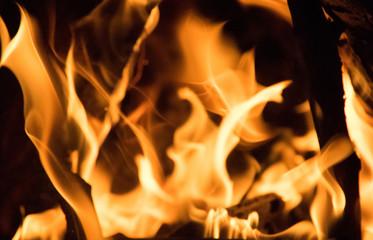 open fire flames texture