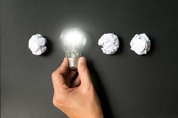 Creativity and innovation concept