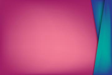The Rectangle Color Pink & Blue Background