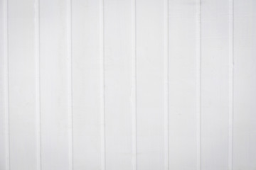 White wooden wall background and texture