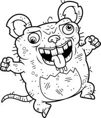 Crazy Ugly Rat