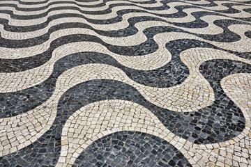Cobbled square, Portugal