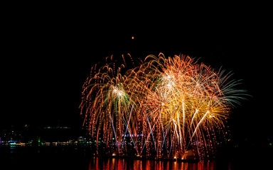 International Fireworks Festival at Pattaya, Thailand