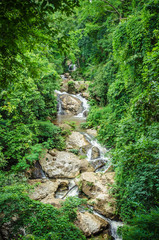 waterfall in northern Thailand
