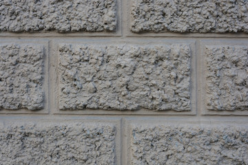 Texture of old wall with decorative trim