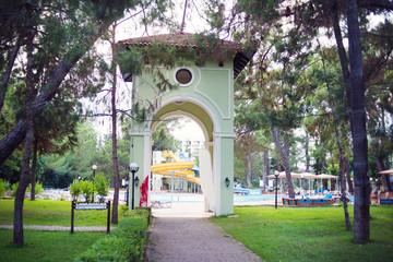 Moonlight park in Kemer, Turkey