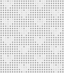 Gray heart abstract pattern. Seamless vector background