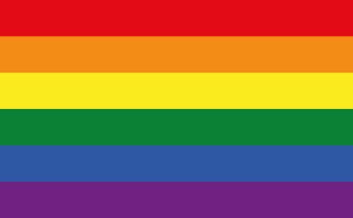 Illustration Rainbow Flag