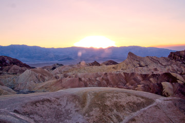 Death Valley Sunset