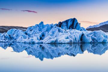 Jokulsarlon, Iceland floating glacier ice