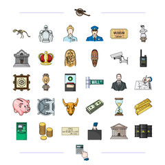 , history, travel, entertainment and other web icon in cartoon style., waste, calculator, hand, icons in set collection.