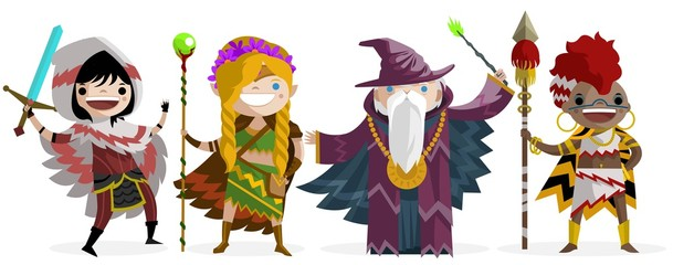 role fantasy characters