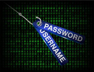fishing hook phishing username and password data