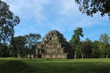 Cambodia . Koh Ker Temple . Preah Vihear Province . Siem Reap City.