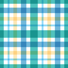 Vector checkered plaid seamless pattern