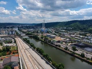 Stuttgart Bad Cannstatt Industriegebiet