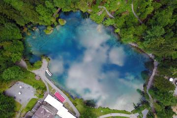 Blausee, Switzerland - Aerial
