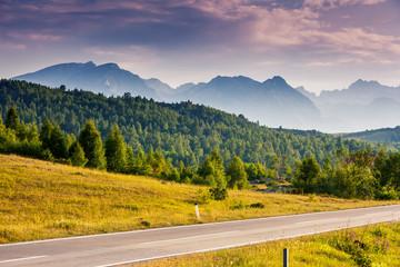 Location famous place National park Durmitor, Balkans. Village Zabljak, Montenegro, Europe. Beauty world.