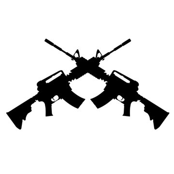 Crossed Assault Rifles.