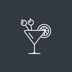 cocktail modern icon