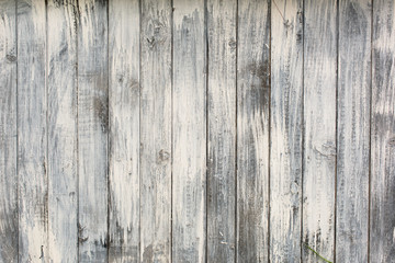 Part of wooden wall