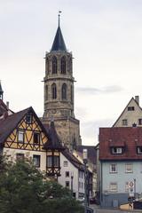 Rottweil Hauptstraße und Kapellenturm