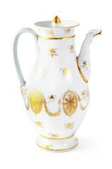 antique coffee pot from 19th century (Biedermeier time)