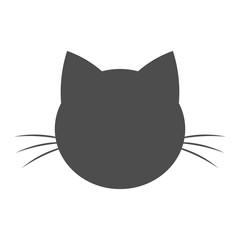 Cat head shape icon
