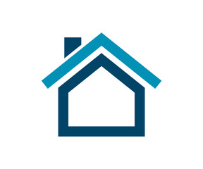 Small House Icon, Home Logo and Icon Vector Design Eps 10