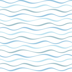 Seamless Abstract Wave Pattern
