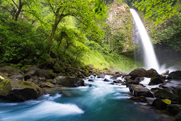 La Fortuna Waterfall, Costa Rica, long exposure