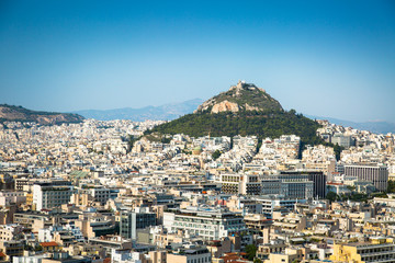 Cityscape of Athens  Greece.