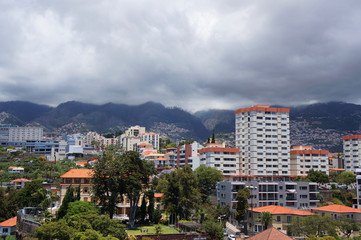 View of Funchal, Madeira, Portugal.