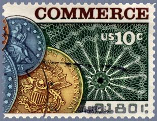 Commerce Postage Stamp