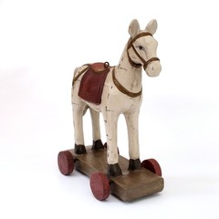 Horse-chairs on wheels (Christmas tree toy)