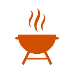 Grill vector icon