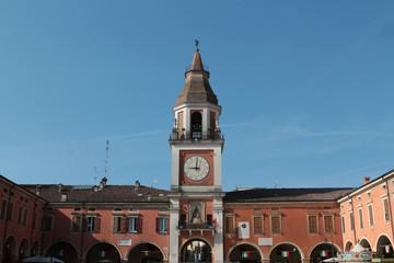 Sassuolo, center of the city, Modena, Italy