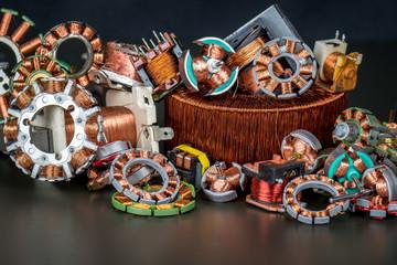 Kupfer im Kupferschrott zur Rohstoffgewinnung